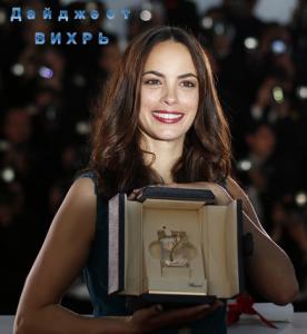 Актриса Беренис Бежо - приз за лучшую женскую роль на Каннском фестивале 2013